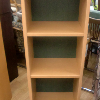 収納棚 幅45㎝ 高さ120㎝ 木製 3段 棚板調節可能 マガジ...