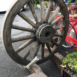 大八車、馬車、馬車の車輪、大八車の車輪、荷車、超大型車輪