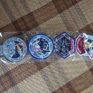 ワッペン各種 NASA パッチ