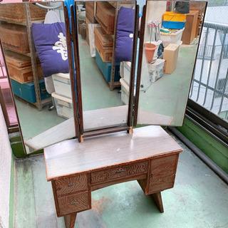 アンティーク(和) 三面鏡