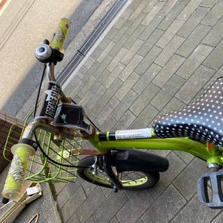 補助輪付き 子供用自転車