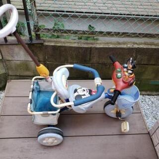 ミッキーマウスの三輪車 あげます。