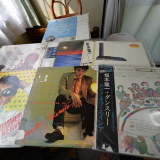 ※坂本龍一コレクション◆LPレコード7枚セット◇Ryuichi