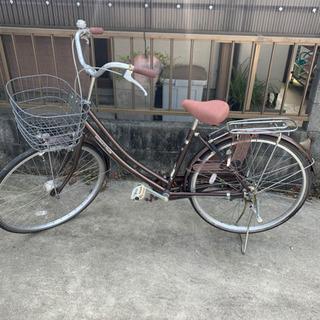 (お取引中)自転車 中古 26インチ 茶色