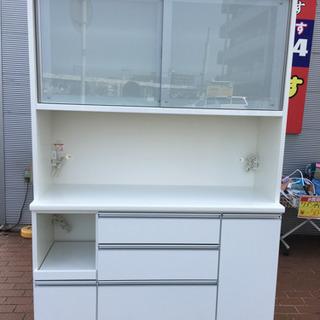 美品 松田家具 2面ワイドレンジボード アーバンStyle 日本製