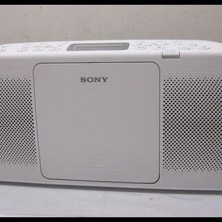 新生活!3080円 SONY CDラジオ ホワイト 2012年製
