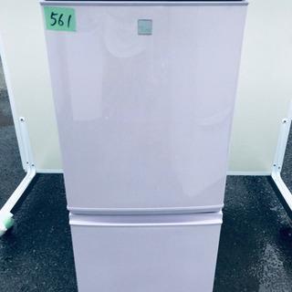 ①✨高年式✨ 561番 シャープ✨ノンフロン冷凍冷蔵庫✨SJ-1...