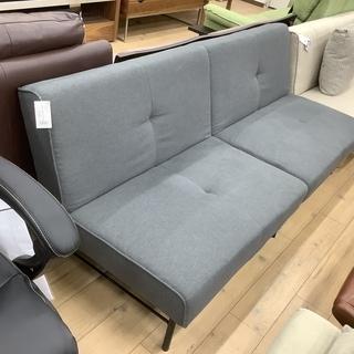 訳アリ大特価商品!シンプルなグレーのソファーベッドです!