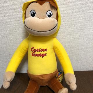 新品 おさるのジョージ 人形 アミューズメント景品 大人気