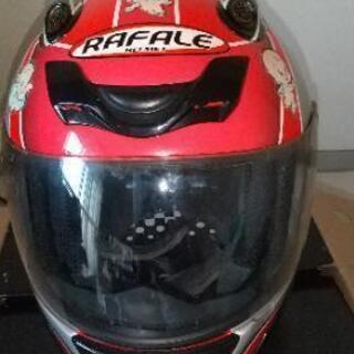 バイクのヘルメットです。