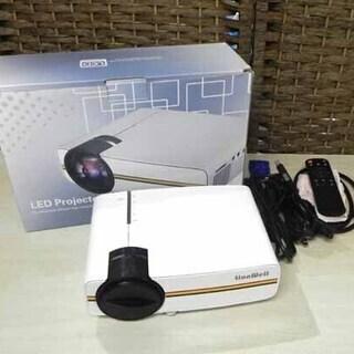 LionWell ミニ プロジェクター LW400 LEDプロ...