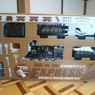 大きな蒸気機関車です