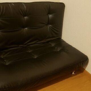 2人掛けソファ。