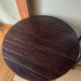 定価10万円 円型テーブル ACTUSなどお好きな方に!