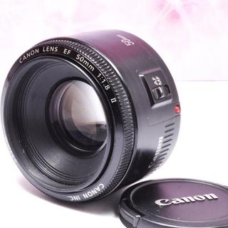 ❤キャノン Canon EF 50mm 1:1.8 Ⅱ❤