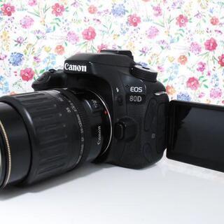 ★全国発送対応★Wi-Fi搭載!Canon EOS 80D レン...