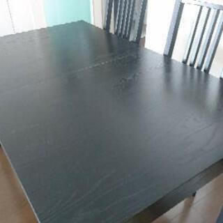 IKEA 4〜8人用ダイニングテーブル 伸長式