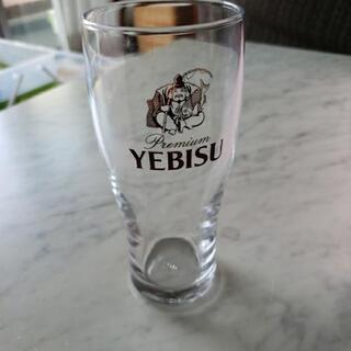 エビスビールのグラス