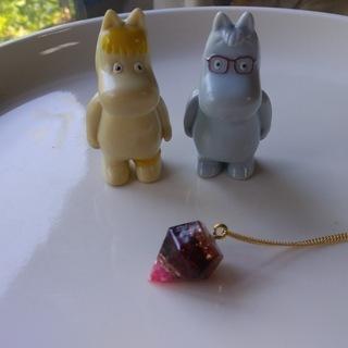 オルゴナイト(ガーネット)のネックレス