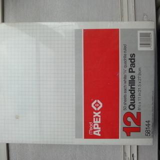 グリッド用紙 12冊(600枚) 未使用