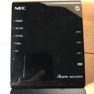 【NEC】無線LANルーター