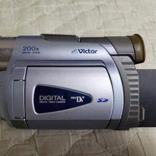 液晶付きデジタルビデオカメラ