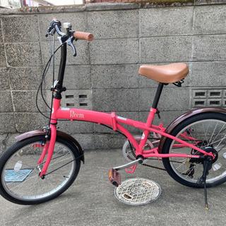 【取引中】20型折りたたみ自転車6段の画像