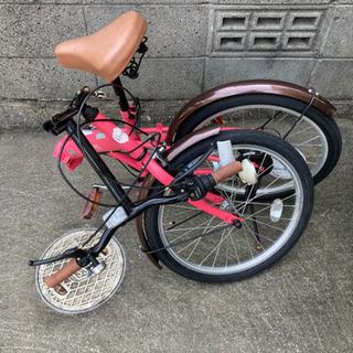 【取引中】20型折りたたみ自転車6段 - 自転車
