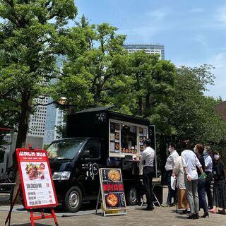 【神戸市垂水区多聞台】【高収入】今流行りのキッチンカー出店現場の...
