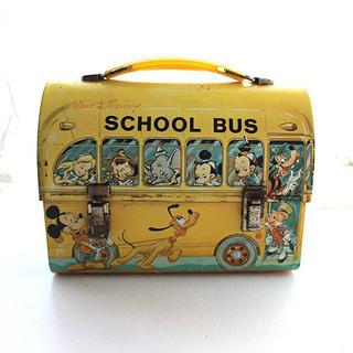 ディズニー ランチボックス バス ヴィンテージ 50年位前の品物