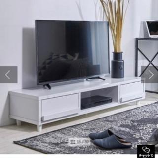 【ほぼ新品】50インチ可能テレビボード