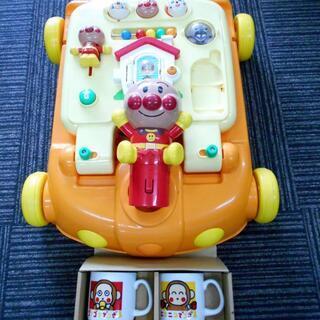 アンパンマン 乗って 押して ウォーカー おもちゃ 遊具 手押し...