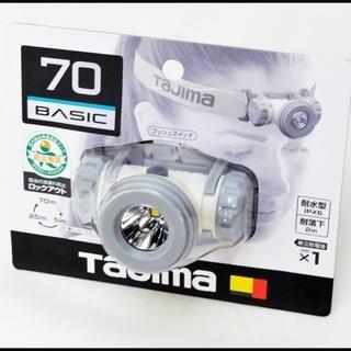 未使用 タジマ LEDヘッドライト LE-M075D-W 在庫多数あり