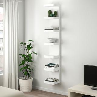 IKEA LACK ラック ウォールシェルフ 30×190cm ...