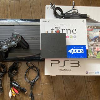 PS3(250GB)ウイイレ13、torne