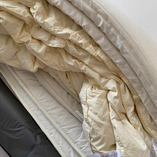 【セット】ニトリ 敷布団、布団用ウレタンマットレス 、羽根布団