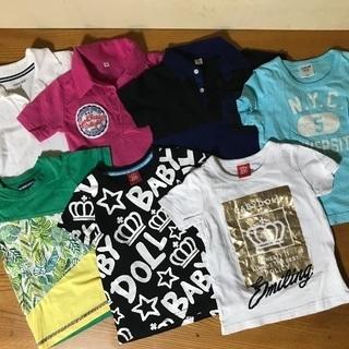 Tシャツ ポロシャツ 子供服 男の子 95〜100