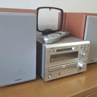 DENON ミニコンポ (CD、CD-R/RW、MD、DVD対応)