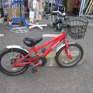 子ども用自転車 16インチ Beliino/ベリーノ赤 鍵なし ...