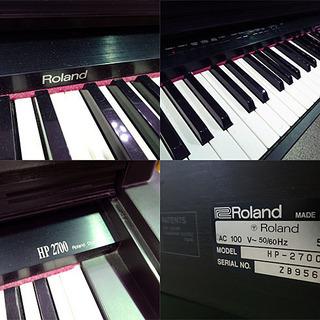 動作品☆Roland/ローランド☆電子ピアノ 鍵盤楽器 88鍵盤◆HP-2700◆ - 売ります・あげます