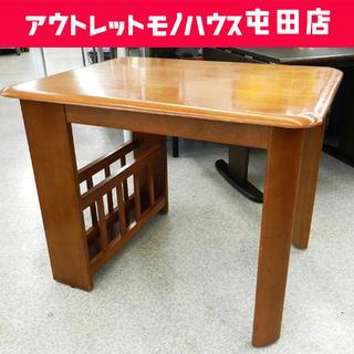 ラック付き ダイニングテーブル 幅90cm【関家具】テーブルのみ...