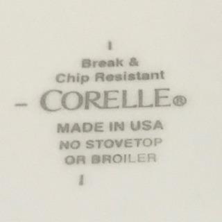 【397】コレール・23cmのお皿・5枚セット