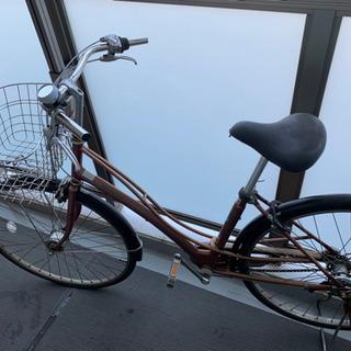 ジャンク品 26インチ 三段ギア自転車