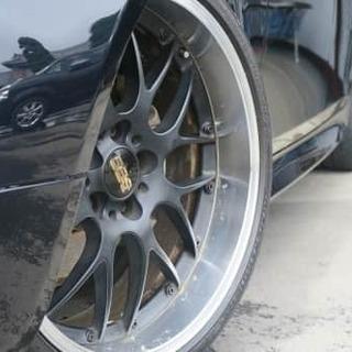 王様BMW5シリーズMスポ BBSアルミ すごくかっこいいです。