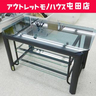 ガラスTV台 幅80cm AVボード テーブル テレビ台 ☆ P...