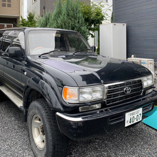 栃木〜トヨタランドクルーザー80