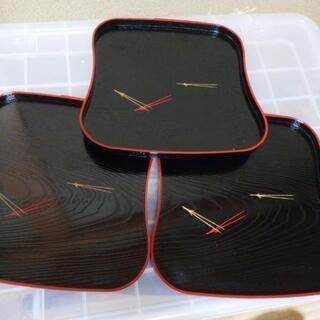 ミニ盆3枚セット