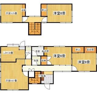 九月に入居可能、安佐北区 くすの木台 戸建て 駐車二台可能 ペッ...