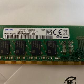パソコンDDR4のメモリ