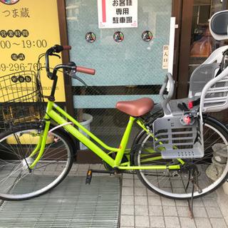 【中古】 TRADEA シティサイクル 自転車 ママチャリ 26...